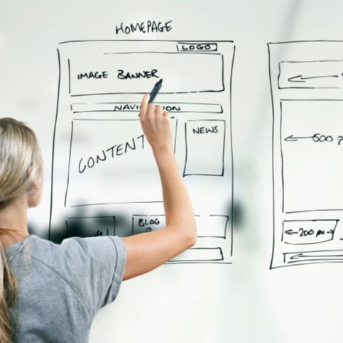 פיתוח, עיצוב ובניית אתרים
